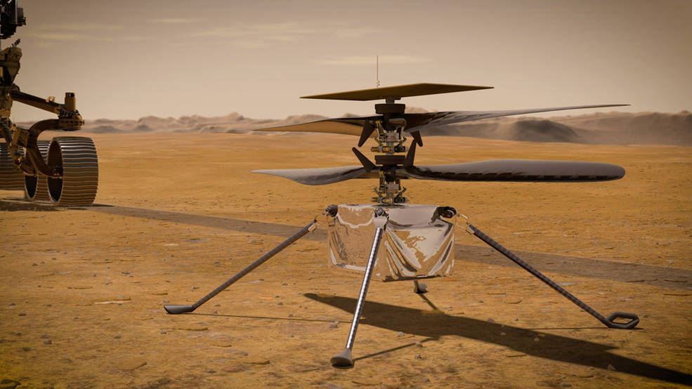 NASA Mars Helicopter Nails 12th Flight, Scouts Ahead for Perseverance Rover